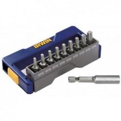 9+1 szt. zestaw Bitów Torx: T10 / 2xT15 / 2xT20 / 2xT25 / T30 / T40 + uchwyt magnetyczny