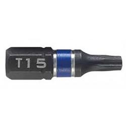 Bit udarowy jednostronny - T25 50 mm - 2 szt.