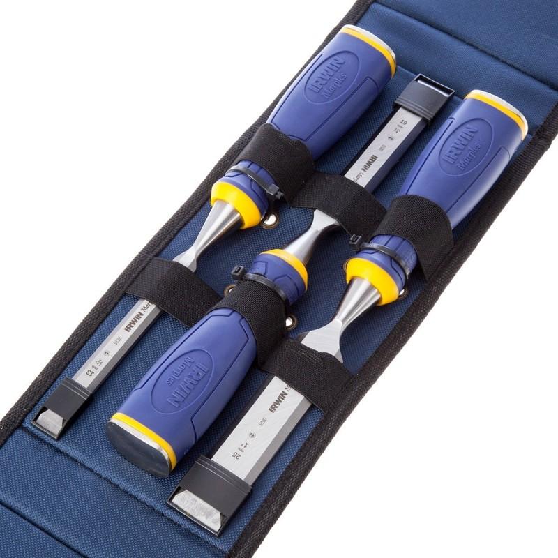 Zestaw 3 dłut MS500 w etui - 6, 12, 20 mm 10503835