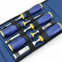 Zestaw 5 dłut MS500 w etui - 6, 10, 15, 20, 25 mm [10503429]