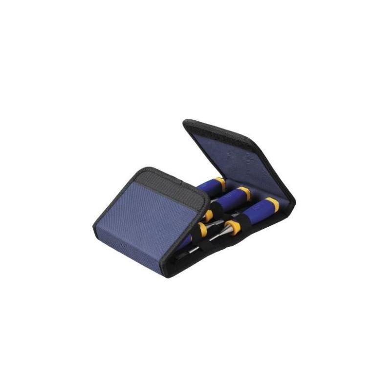 Zestaw 5 dłut MS500 w etui - 6, 10, 13, 19, 25 mm 10503428
