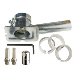 Zestaw - frez do usuwania fug 10x20/40mm (2 szt.), Podstawa, Adapter