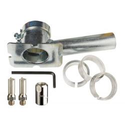 Zestaw - frez do usuwania fug 08x20/40mm (2 szt.), Podstawa, Adapter