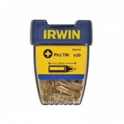 Bit  1/4 cal 25 mm PHillips PH1 TIN (10 szt.)
